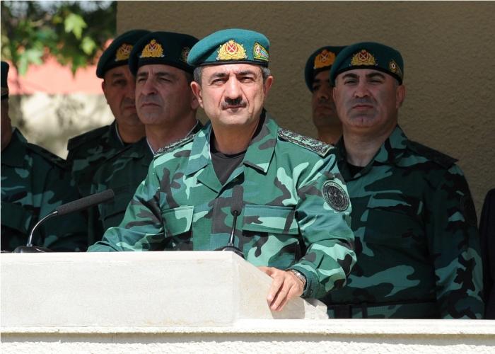 DSX-nın yeni hərbi hissə kompleksi istifadəyə verildi - FOTOLAR