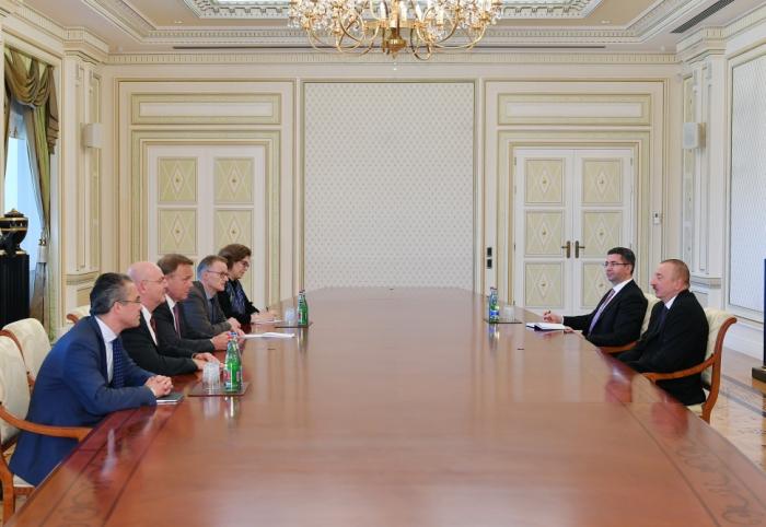 President Ilham Aliyev receives delegation led by vice-president of German Bundestag