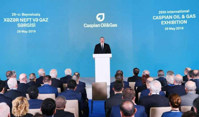 Azerbaijan's President: I believe in coming years we will be producing energy resources from new fields