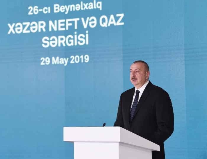 President Aliyev: Energy security issues are issues of national security of countries