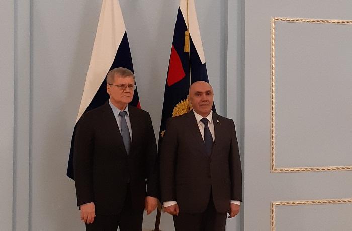Azərbaycan və Rusiya Baş prokurorluqları arasında saziş imzalanıb - FOTOLAR