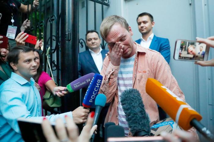 Russischer Enthüllungsjournalist kommt auf freien Fuß -  Keine Anklage