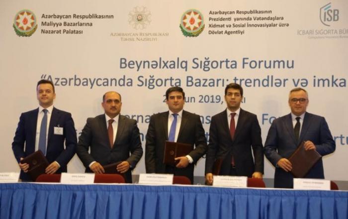 Beş qurum arasında memorandum imzalandı