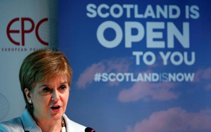 Scots leader chides