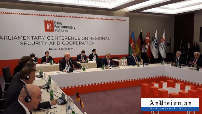المؤتمر التأسيسي لمنصة باكو البرلمانية يعقد -  صور