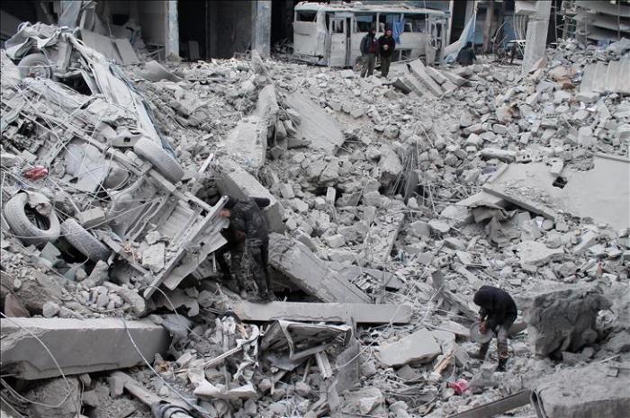 Nouveaux bombardements du régime dans le Nord-Ouest syrien,   10 civils tués