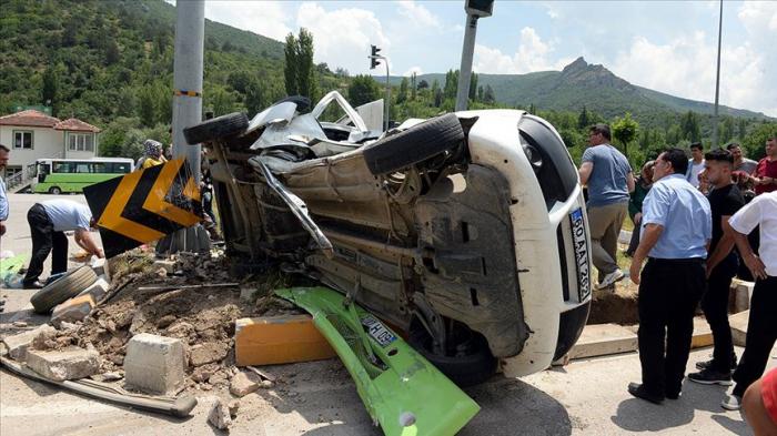 Bayram tətilində 86 nəfər yol qəzalarında ölüb