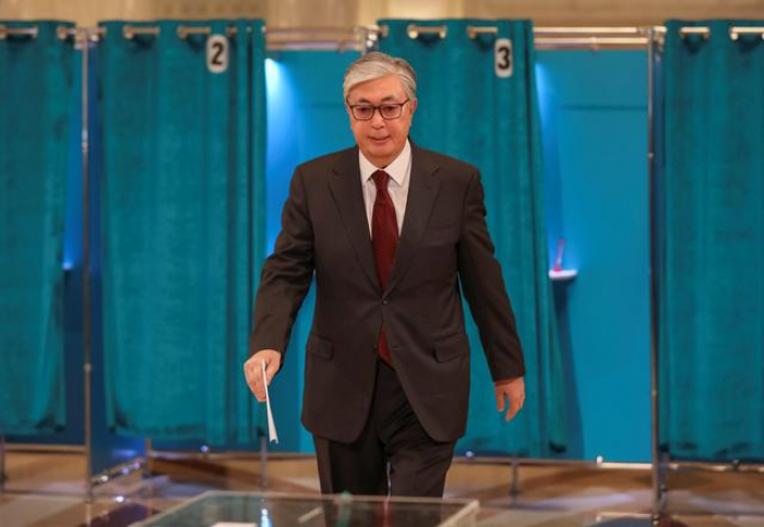 Tokayev elected Kazakh president with 71% of vote: early results