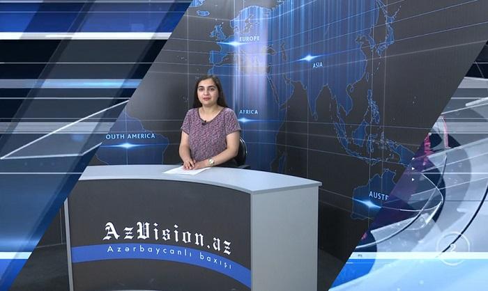 AzVision News: İngiliscə günün əsas xəbərləri (03 iyun) - VİDEO