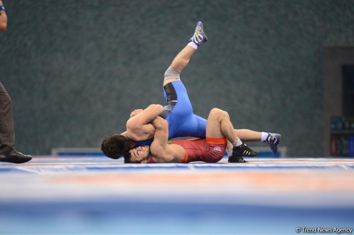 Azerbaijani wrestlers win gold, bronze medals of second European Games