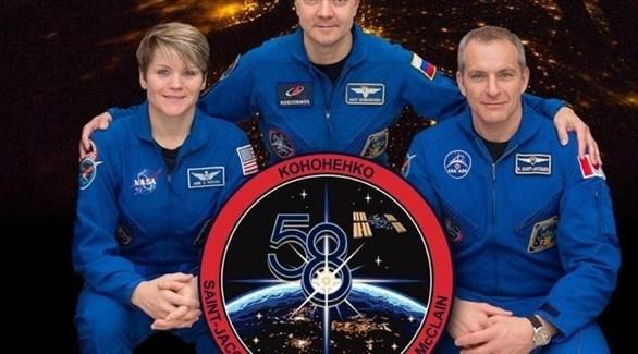 عودة ثلاثة رواد فضاء إلى الأرض بعد 6 أشهر في الفضاء