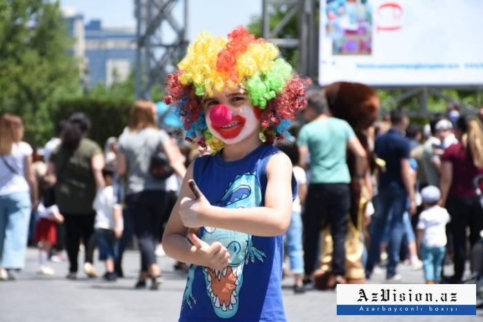 Uşaqların 1 iyun sevinci - FOTOREPORTAJ
