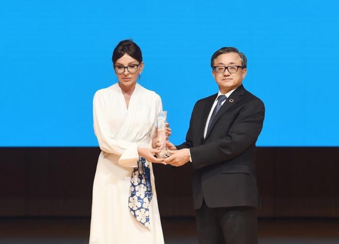 First Vice-President Mehriban Aliyeva awarded a special UN award