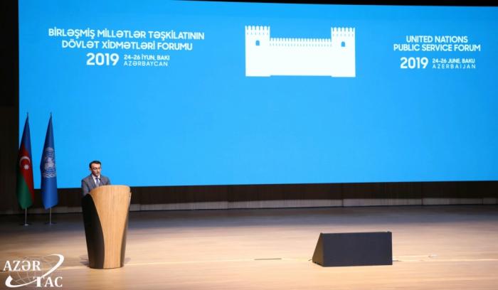Concluye el Foro de la ONU sobre Servicios Públicos en Bakú