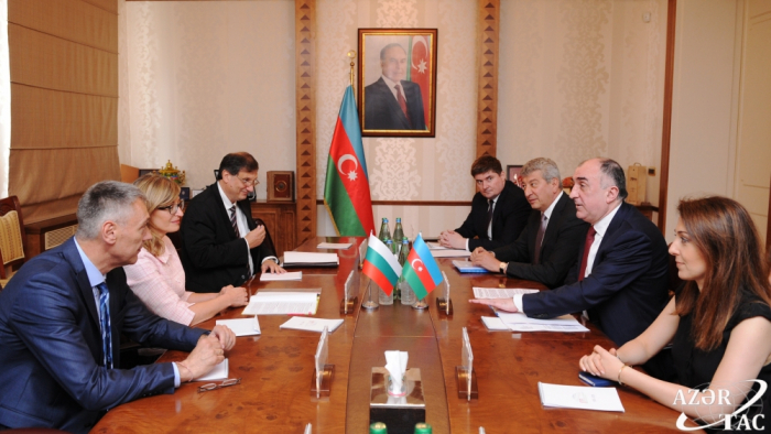 Azerbaijan, Bulgaria discuss prospects for developing relations