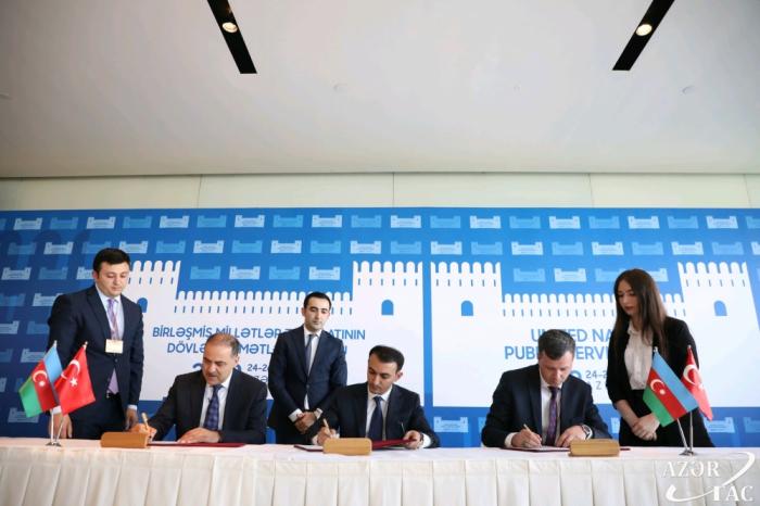Azerbaiyán y Turquía cooperarán en los ámbitos de la administración pública y el gobierno electrónico