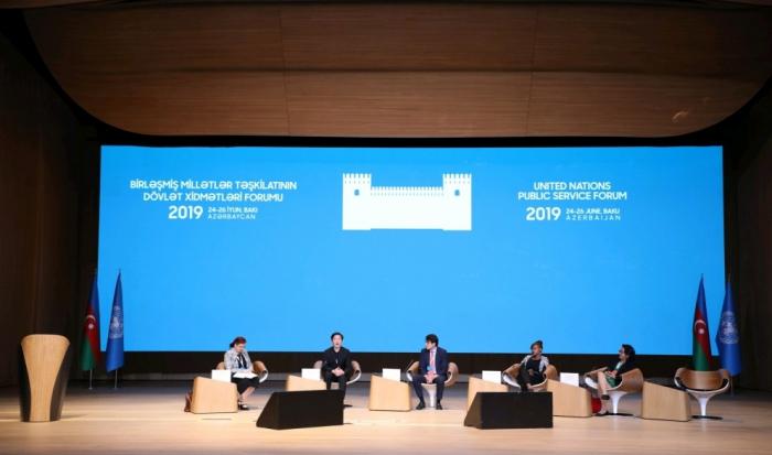 BMT-nin Bakı Forumunda növbəti plenar sessiya keçirilib