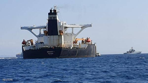 بريطانيا تشترط ضمانات لتسليم ناقلة النفط الإيرانية
