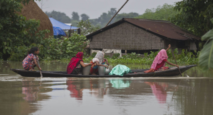 Over 55 dead as floods continue to wreak havoc in India