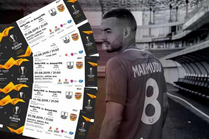 """""""Neftçi"""" – """"Arsenal"""" oyununun biletləri satışda"""