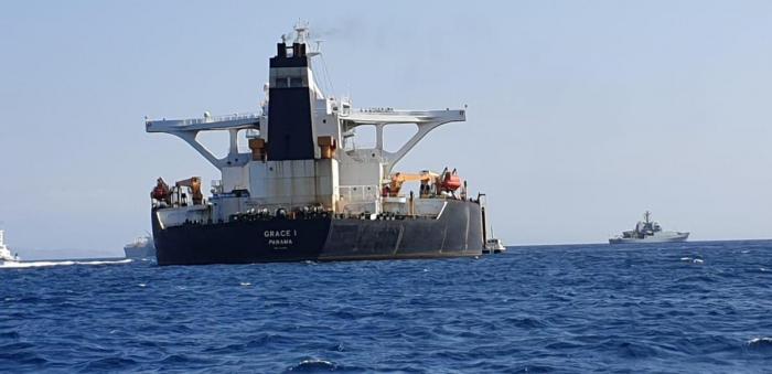 British capture of Iranian tanker won