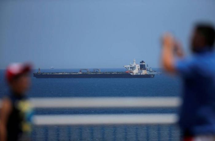 Tanker saisi :   Londres a convoqué le chargé d