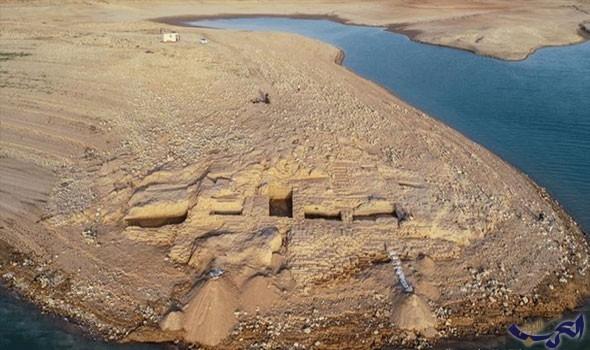 """""""الجفاف"""" يكشف عن آثار لحضارة قديمة مجهولة في العراق"""