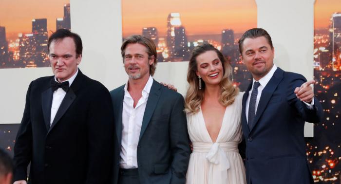 أول فيلم يجمع بين ليوناردو دي كابريو وبراد بيت يحقق أضخم افتتاحية في مسيرة المخرج كوينتن تارانتينو