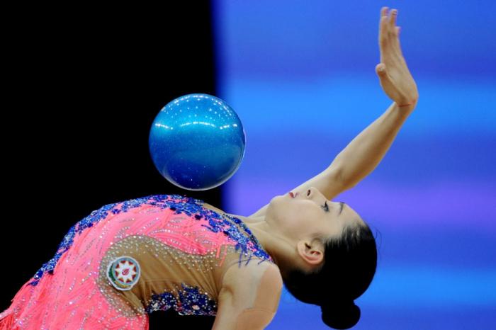 Azərbaycan gimnastı Dünya Çempionatında iki medal qazanıb