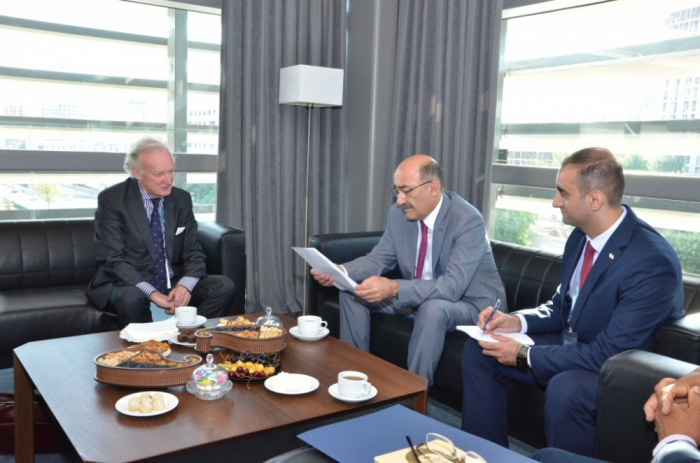 Azerbaijani Minister of Culture meets with Permanent Delegate of Saint Kitts and Nevis to UNESCO
