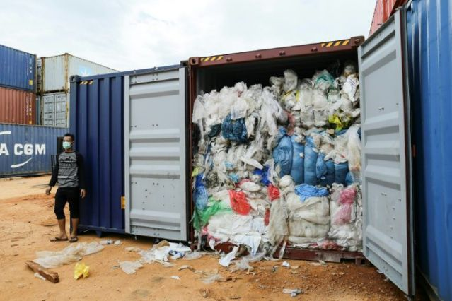 Indonesia to return 49 containers of waste to Europe, US