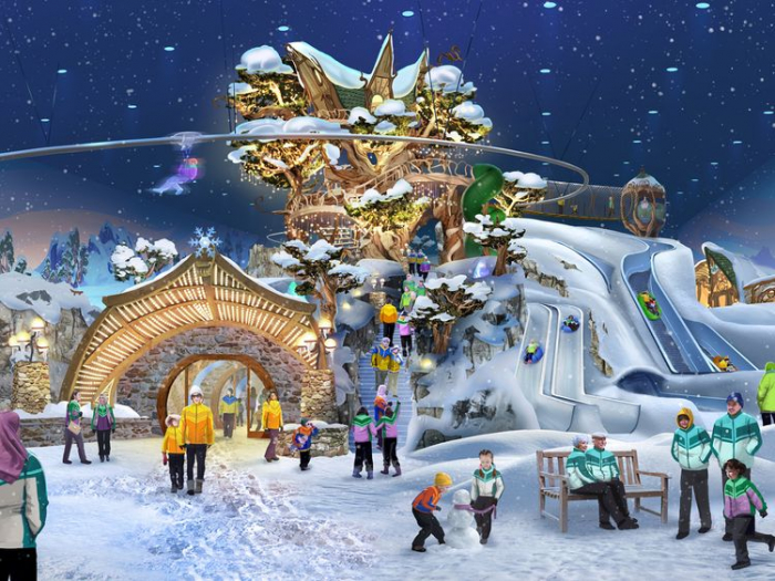 World's largest snow park to open in Abu Dhabi