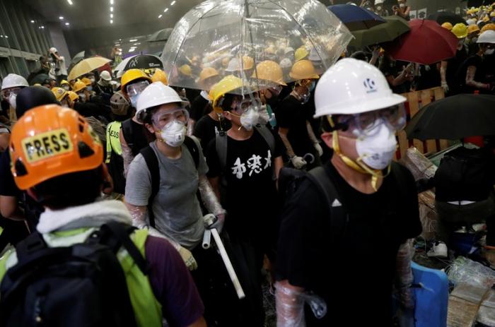 Hong Kong protests, Beijing