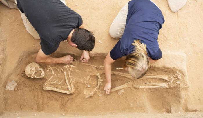 Diez cadáveres desvelan la historia de inmigrantes europeos hace 3.600 años