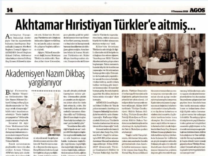 Türkiyədəki erməni icması təşvişə düşüb