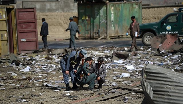 At least 6 killed, over 30 wounded as mortar shell hits Afghan market