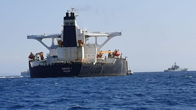 Iranian official threatens to seize British oil tanker