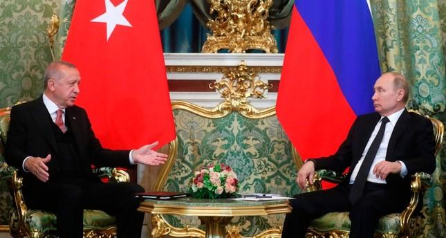 Erdogan discusses Libya with Russian president