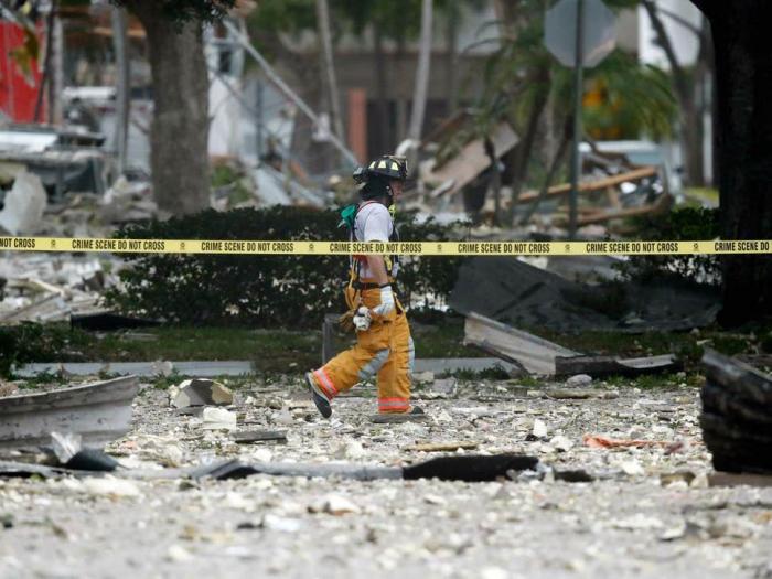Twenty injured in gas blast at Florida shopping centre