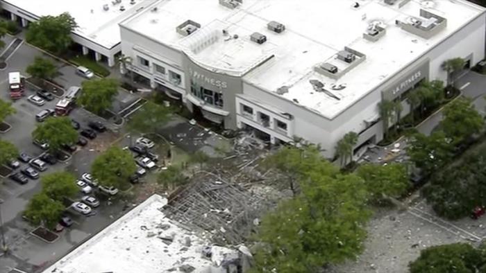 VIDEOS:   Al menos 21 heridos tras una fuerte explosión de gas en un centro comercial de Florida