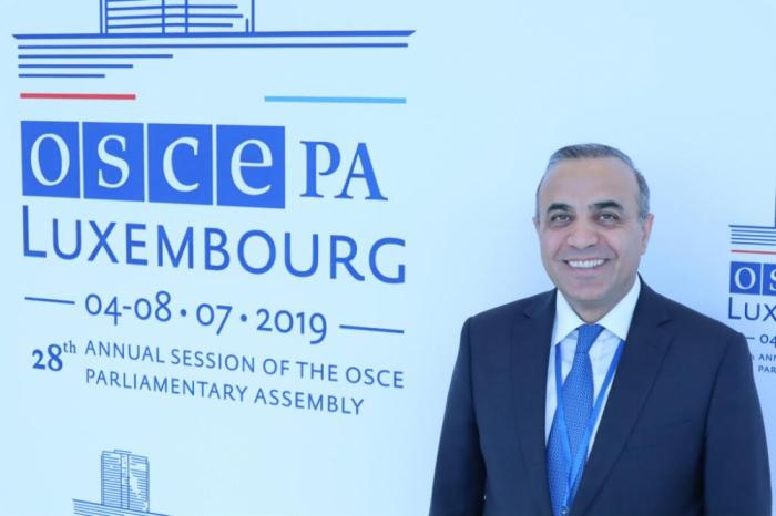 Azay Guliyev re-elected OSCE PA Vice President