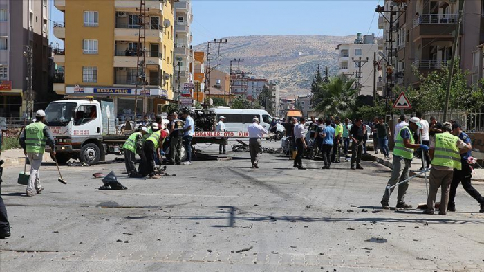 16 arrested after vehicle explosion in southern Turkey