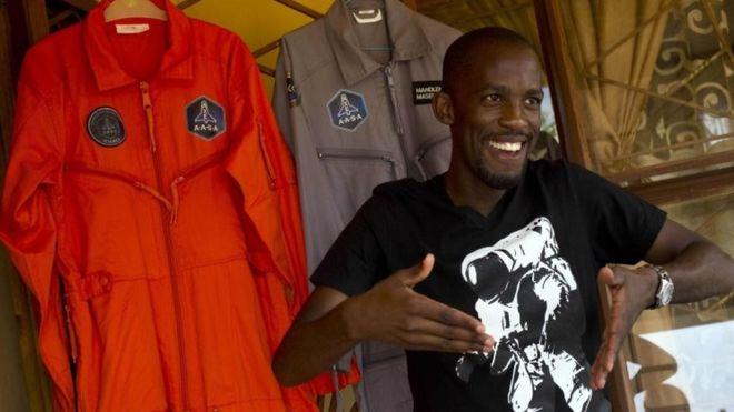 Mandla Maseko: Would-be African astronaut dies in road crash