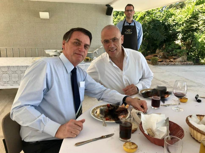 Israeli embassy blurs out photo of ambassador