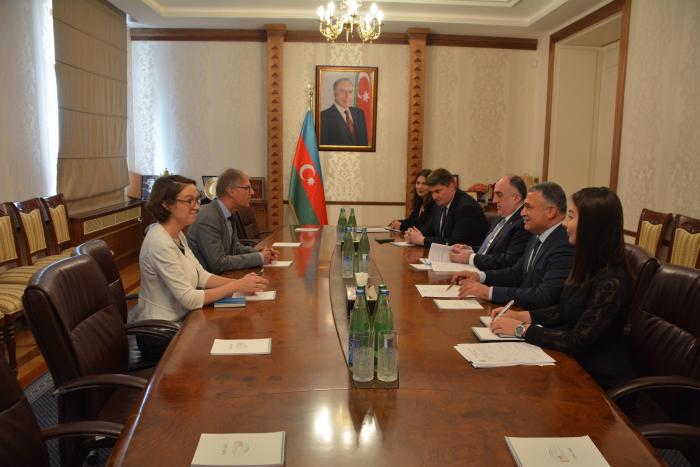 German ambassador presents copy of credentials to Azerbaijani FM