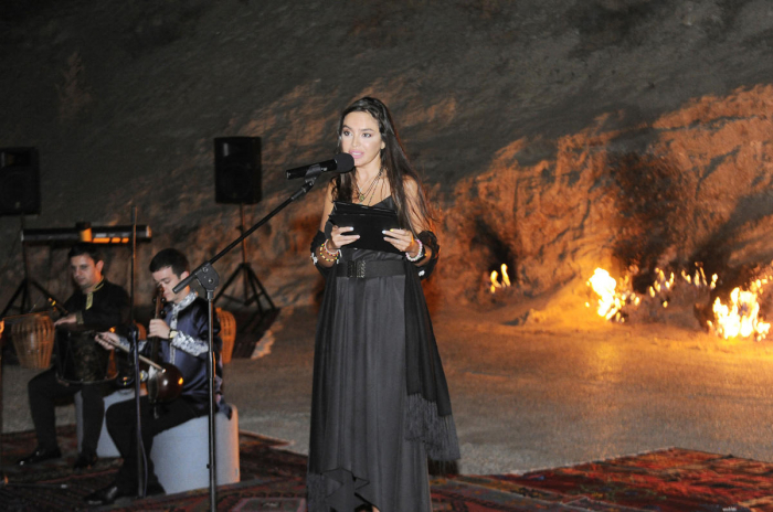 Leyla Aliyeva attends yoga & poetry night organized at Yanardag Reserve - PHOTOS