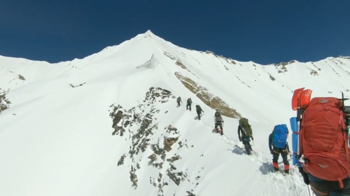 Harrowing  VIDEO  shows missing Himalayan climbers' final moments