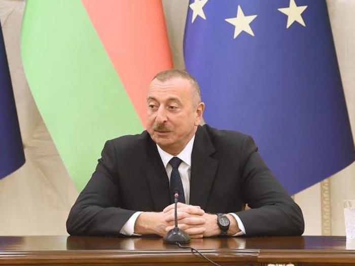 Ilham Aliyev: Die Änderung des Status quo bedeutet dieBeendigung der Besatzungspolitik