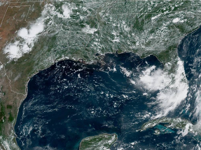The weather system heading to the Gulf Coast now has a 90% chance becoming year