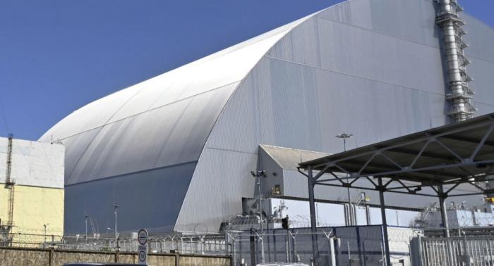 Ponen en servicio el nuevo sarcófago de la central nuclear de Chernóbil